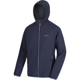 Regatta Arec II Chaqueta Softshell Hombre, navy/seal grey